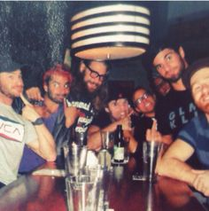 Dean Ambrose, Seth Rollins, Sami Zayn, Chris Hero, Jimmy Jacobs and Rob Naylor (FCW)