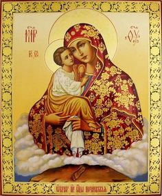 Почаевская Богородица