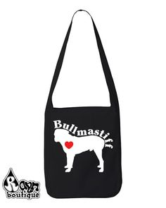 Get this at RaynBoutiqueApparel on Etsy: Bullmastiff Love Heart Dog Breed Silhouette shirt bag hoodie (15.99 USD) Coupon Code PIN15
