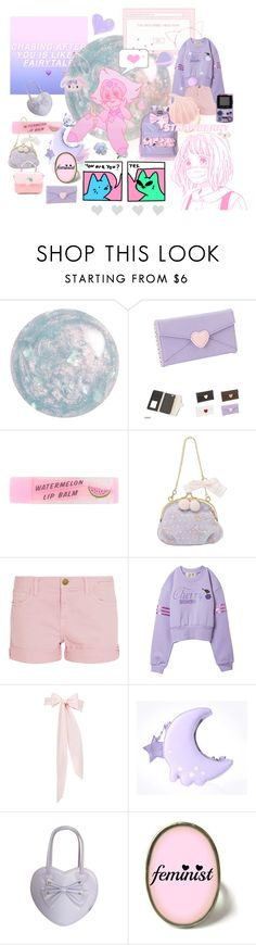 """""""rtd but its ok if u ignore"""" by disney-loves-mel ❤ liked on Polyvore featuring Current/Elliott and LaDress"""