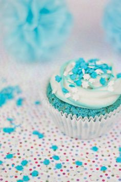 Objective: Cupcake Perfecto. Blue Velvet Cupcakes for World of Autism