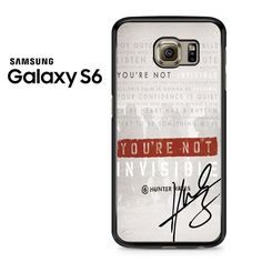 Invisible Hunter Hayes Lyric Quotes With Signature Samsung Galaxy S6 Case