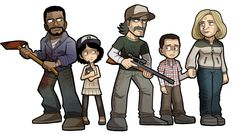 The Walking Dead: The Game by SandikaRakhim.deviantart.com on @deviantART
