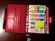 Filofax Setup & Accessories | papercrafts and sprinkles