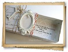 wedding invitation keepsake box