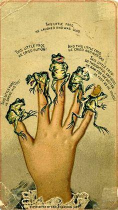 Frog fingers 1884 Hawley & Moors
