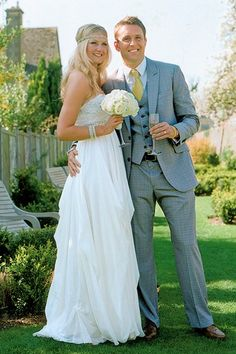 Wedding in a garden theme setting