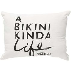 Billabong Women's Bali Bound Pillow (945 CZK) ❤ liked on Polyvore featuring home, home decor, throw pillows, accessories, white cap, white accent pillows, white home decor, billabong, white toss pillows and white throw pillows