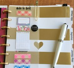 DIY Dollar Store Cutting Mat projects and a shameless confession from this Happy Planner addict. Planner Tips, Project Planner, Planner Pages, Printable Planner, Planner Stickers, Free Printables, Printable Calendars, Planner Journal, Planner Supplies