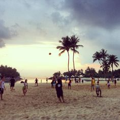 Singapore's Sentosa Island Siloso Beach. Help vote my picture as Instacanvas photo of the week