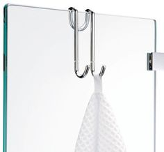 Harmony Hang Up Hook for Shower Cabins in Chrome - contemporary - towel bars and hooks - by Modo Bath