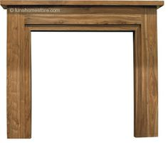 Colorado Fireplace Surround Natural Hardwood      Solid Sheesham     Available in Natural finish     (version shown)     Suitable for all our cast iron insets Online Sale Price: £245.00 r.r.p: £304 saving: £59