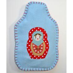 Babushka Hot Water bottle cover