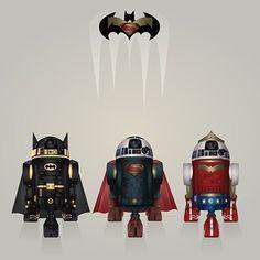 Droid Trinity #thesuperman #sonofkrypton #kryptonian #krypton #manoftomorrow #manofsteel #clarkkent #superhero #dc #dccomics #like4like #batman #superman #brucewayne  #batmanvssuperman #batmanvsupermandawnofjustice  #superhero #darkknight #dceu #batmanvsuperman #henrycavill #benaffleck #batfleck #wonderwoman #robin #movie #zacksynder #godvsman #amazon #justiceleague #whowillwin by official.superman_