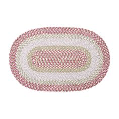 Blokburst Tea Party Pink Outdoor Area Rug