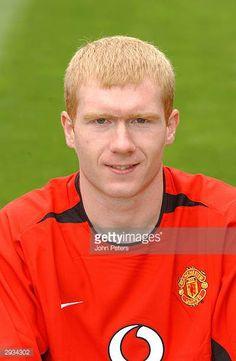 6edb3d8ab6c A pre season portrait of Paul Scholes of Manchester United Man Utd Squad, Man  Utd
