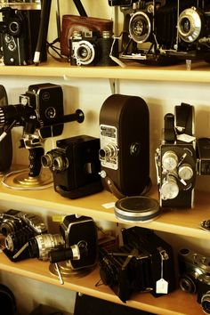 New free photo from Pexels: https://www.pexels.com/photo/vintage-cameras-arraged-196521/ #camera #industry #vintage