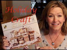 Holiday Craft—Shimmer Noel Village