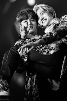 Luhan and Kai♥ This is so cute, and Kai's smile always melts my heart!