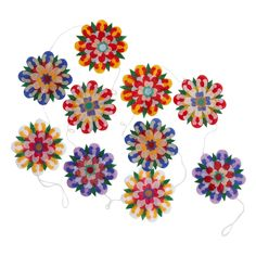 Flower Fete Garland - Dorm Room Decorating Ideas - Fair Trade and Handmade