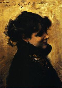 Madame Errazuriz - John Singer Sargent // SARGENT STOP BEING SO GOOD STOP IT