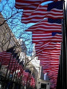 Flags @ Rockefeller Center, NYC