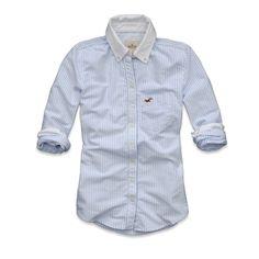 Grandview shirt in Blue Stripe. $14.90 HollisterCo.com