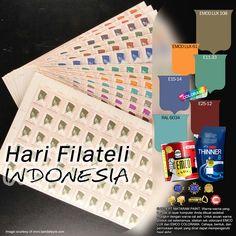 Hari Filateli Nasional #Inspirasi #Warna  #EMCOPaint http://matarampaint.com/detailNews.php?n=359
