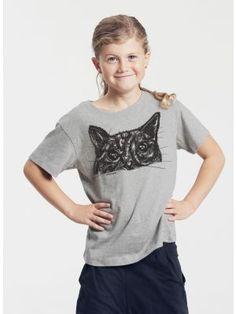 Bio-Kinder T-Shirt Kater Findus Kind Mode, Sweatshirt, T Shirts For Women, Tees, Fashion, Young Adults, Kids Wear, Cotton, Moda
