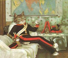 Susan Herbert, Colonel Burnaby ( inspiré par James Tissot).