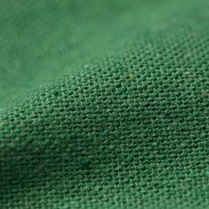Recycled Polyester & Recycled Cotton Green Texture