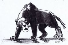 The Jungle Book Concept Art #illustration #popculture #vintage #disney #thejunglebook #conceptart