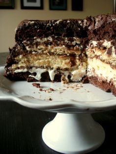 Six-Layer S'more Cake