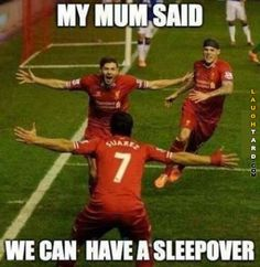 My mum said we can have a sleepover #lol #funnypics