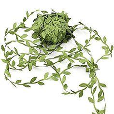 WINOMO 77m hoja Artificial vid simulación follaje hojas verdes rota corona falso decorativo hogar pared jardín fiesta decoración