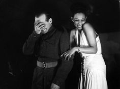 The Vintage Guide To London - Josephine Baker entertains the troops at a London...