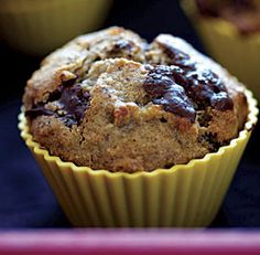 Banana Chocolate Hazelnut Muffins Recipe