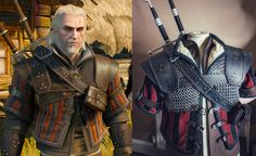 [self] WIP of Geralt's Superior Wolven Armour - The Witcher 3 Witcher 3 Armor, The Witcher Game, The Witcher Books, Witcher Art, Fantasy Armor, Medieval Fantasy, Dark Fantasy Art, Larp, Cosplay Diy