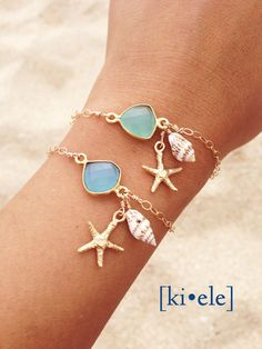 >>>Pandora Jewelry OFF! >>>Visit>> Dear Stichfix - I dont normally wear jewelry. But I do like jewelry with a beachy theme (starfish sea glass dolphins etc) Seashell Jewelry, Sea Glass Jewelry, Cute Jewelry, Gold Jewelry, Beach Jewellery, Mermaid Jewelry, Jewellery Rings, Anklet Jewelry, Fashion Jewellery
