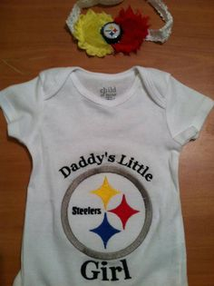 Daddys Little Steelers Girl