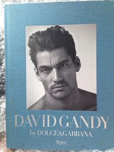 David Gandy's own book cover.
