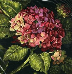 Needlepoint Kit Hydrangea Bloom From Dimensions