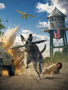 Far Cry 5 - Boomer - Key Art (Vertical Clean)