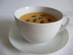 Tejszínes sütőtök krémleves Tea Cups, Tableware, Dinnerware, Dishes, Place Settings, Teacup, Cup Of Tea
