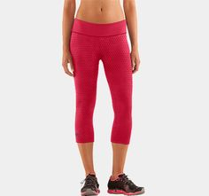 """Women's HeatGear® Sonic Printed 17"""" Capri 