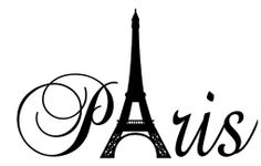 Paris Tower girls room wall decal home decor by WordFactoryDesign, $12.00 Great idea to make a sign for the baby shower than into the nursery as decor.