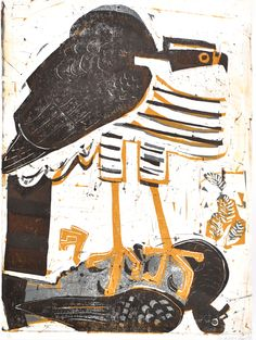 Greg Poole 1960 – 2018 Artist/Illustrator based in Bristol UK SWLA member since 1993 and 3 times serving on council. Taking part in 5 Artist for Nature Foundation projects. Studio work is mai… Arte Popular, Wildlife Art, Linocut Prints, Bird Art, Printmaking, Cool Art, Art Photography, Birds, Feral Pigeon