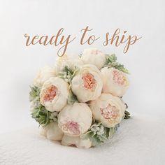 48 new Ideas for wedding flowers peonies babies breath dusty miller Silk Bridal Bouquet, Wedding Bouquets, Wedding Flowers, Ceremony Decorations, Wedding Centerpieces, Homemade Wedding Gifts, Diy Wedding Backdrop, Wedding Guest List, Babies Breath