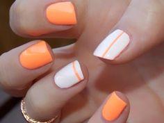 Oranje wit