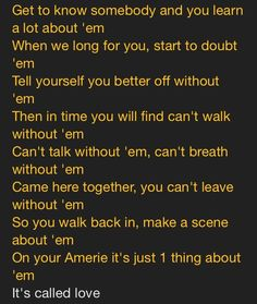 J Cole <3 #ForestHillDrive It's called love don't nobody sing about it no more?